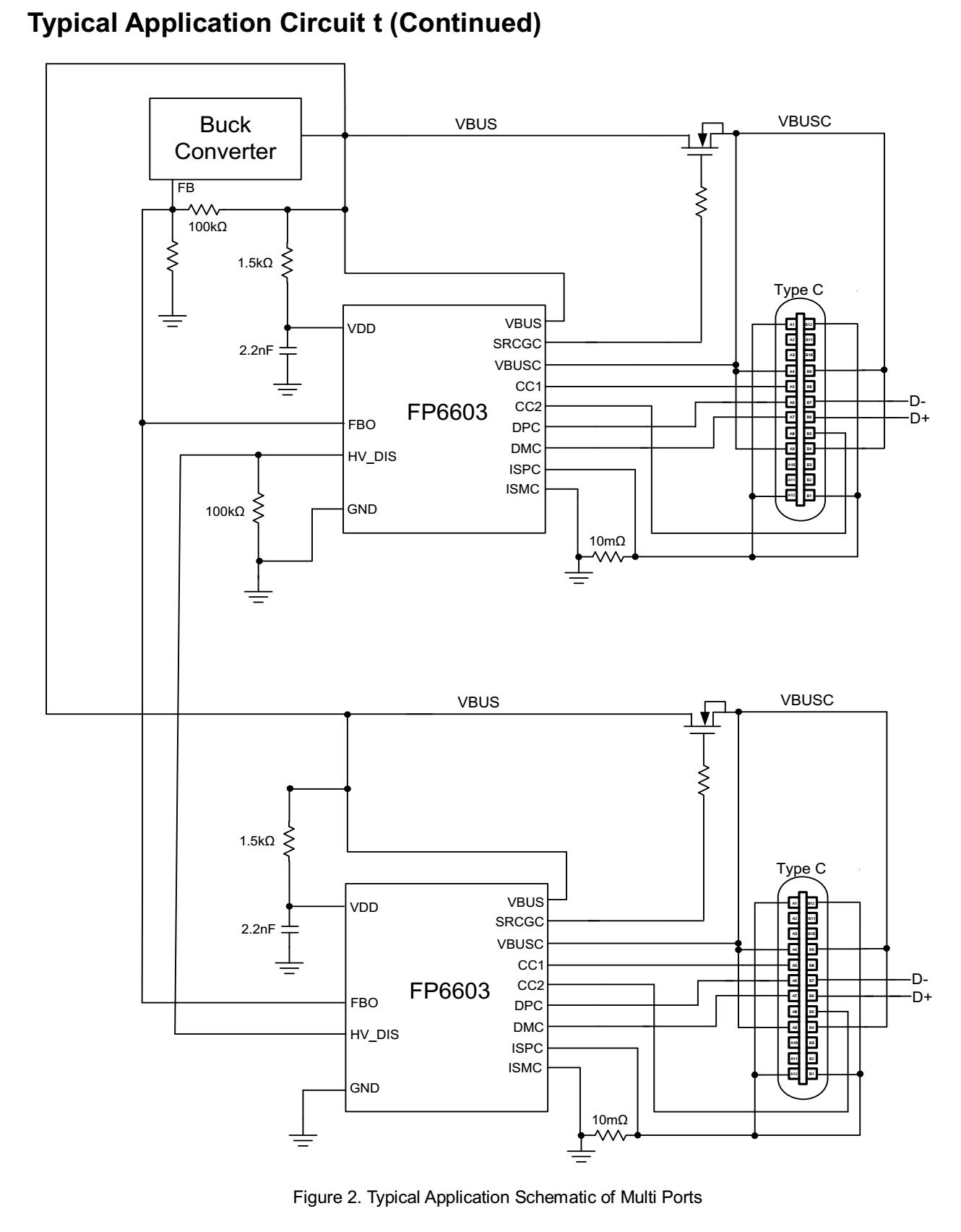 FP6603典型2个芯片图
